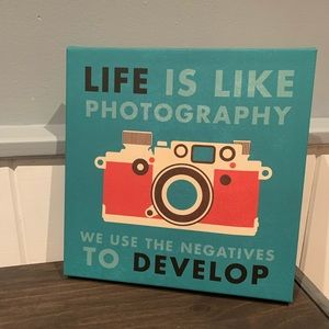 Photography quote Wall art